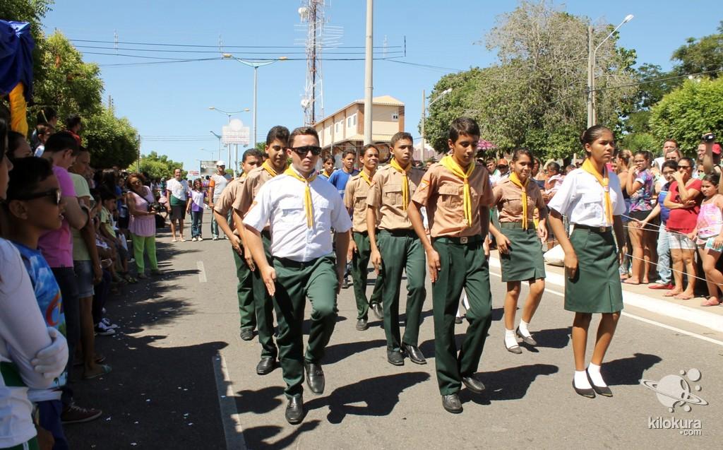 Desfile Cívico em Comemoração a Independência do Brasil - Foto 927
