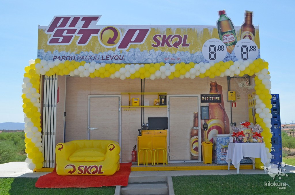 Inauguração Pit Stop Skol - Foto 1