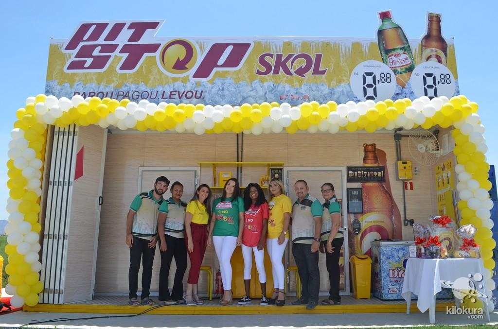 Inauguração Pit Stop Skol - Foto 6