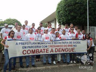 Parceria com Prefeitura Municipal, Secretaria de Saúde Agente em Endemias