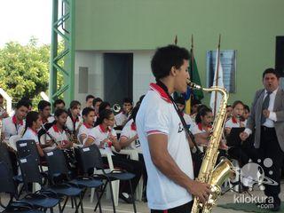 Inauguração do Ginásio Poliesportivo Prof. João Lima dos Santos - IFCE - Foto 5