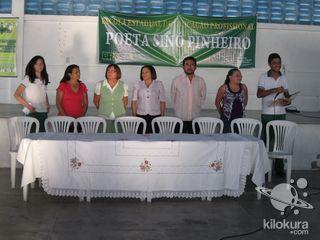 Organização: Escola Profissionalizante Poéta Sinó Pinheiro e CREDE 11