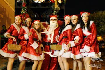 O Boticário prestou uma homenagem especial na noite de natal na cidade de Jaguaribe , desejando a todos um feliz natal e incentivando a praticar o bem<br>Agradecimento: Grupo Pinheiro