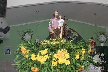Missa celebrada pelo padre Mauro Monteiro