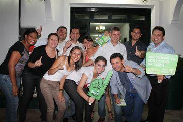 Visita da caravana da chapa 1 Elos da ação em Jaguaribe e Contadores de Jaguaribanos apoiam essa chapa / Fotos: Tadeu de Carvalho