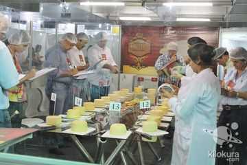 O Festival do Queijo de Jaguaribe é um evento tradicional que nesta edição em seu primeiro dia aconteceu a solenidade de abertura, palestra, debate, início do VIII Concurso de Queijo Coalho Regional e exposição de produtos