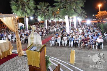 Missa presidida pelo Bispo Dom André Vital
