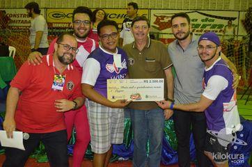 Equipe Vencedora: Winx, Rainha Vencedora: Vitória Daniele, Rei Vencedor: Marcelo