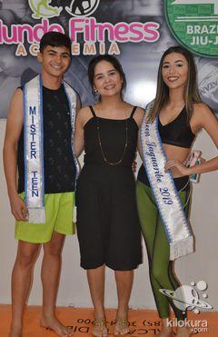 Aclamação Miss e Mister Teen e Reinauguração Academia Mundo Fitness - Foto 72