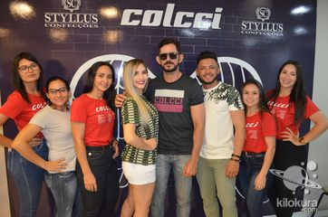 Coquetel de lançamento da marca Colcci na loja Styllus Confecções - Foto 294